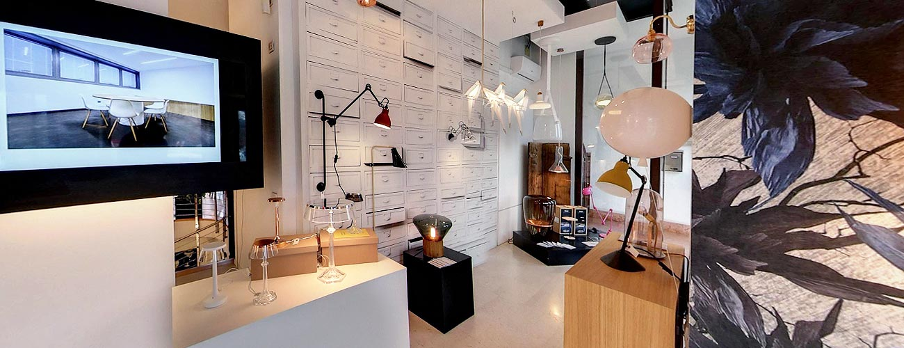 forme di luce showroom verona