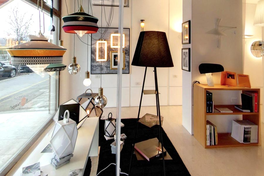 showroom forme di luce