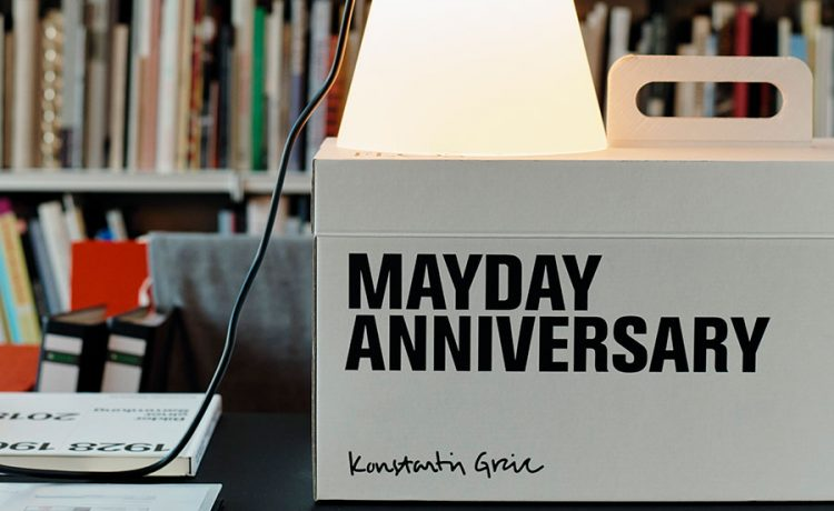 MayDay Anniversary – Konstantin Grcic
